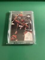 2003-04 Black Diamond Dwyane Wade Rookie Card RC Miami Heat PSA BGS One Touch