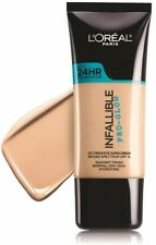 L'OREAL INFALLIBLE PRO-GLOW 24HR FOUNDATION NEW & SEALED #206 BUFF BEIGE