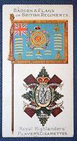 ROYAL HIGHLANDERS   BLACK WATCH   Original 1904 Vintage Illustrated Card