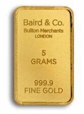 Gold Bullion 5 g Precious Metal Content per Unit