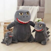 Cartoon Monster Godzilla Plush Toy Gojira Dinosaur Stuffed Soft Animal Doll Gift