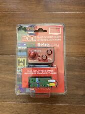 My Arcade Retroplay Controller 200 Built-in Video Games Plug to TV & Play NEW