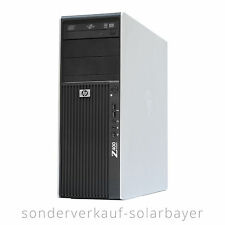 HP Z400 Workstation PC Intel Xeon 4/8 Core W3520 Ram 6GB SSD 128GB Quadro FX3700
