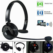 Bluetooth Wireless Noise Cancelling Clear Single Headset For Truck Driver Phone