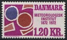 Dinamarca 1972 Sg # 537 Oficina Meteorológica Mnh #d 3991