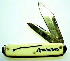 couteau canif publicitaire vintage REMINGTON chasse publicité USA pocket knife