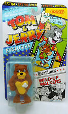 Vintage Tom And Jerry Hornby Wind Up Walkers Figure Spike New MOC 1989
