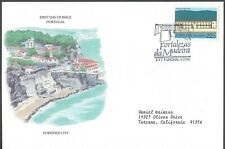 Portugal First Day Cover - Fortified City - European Size - Cacheted - Nice!