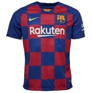 FC BARCELONA Official Nike Home Football Shirt 2019-2020 NEW Jersey FCB 19/20