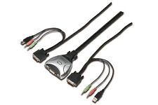 DIGITUS USB Pocket KVM Switch Ds-11802-1
