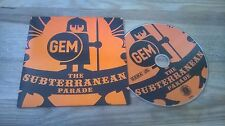 CD Pop Gem - Subterranian Parade (3 Song) MCD CARGO HALDERN POP cb