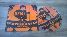 CD Pop Gem - Subterranian Parade (3 Song) MCD CARGO HALDERN POP cb