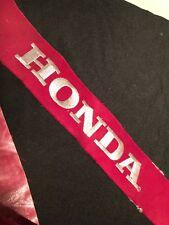 "12.5/"" HONDA Checkered Flag Racing Biker Car Logo Patch Iron on Jacket Suit Vest"