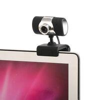 Mini HD 12MP Webcam Web Camera W/ Mic USB LED Nice For Laptop PC Mac Windows 10