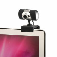 Durable HD 12MP Webcam Web Camera Mic USB LED SPARE For Laptop PC Mac Windows 10