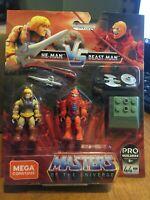 MEGA CONSTRUX FINAL SHOWDOWN: MASTERS OF THE UNIVERSE - He-Man Vs Beast Man