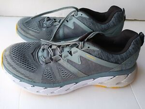 Hoka One One Mens Gaviota 2 1099629 LATH Grey Running Shoes  Size 11.5 worn once