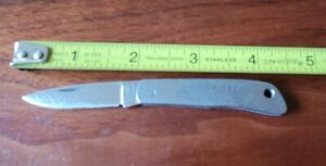 Gerber Silver Knight Single Lockback Blade Pocket Knife