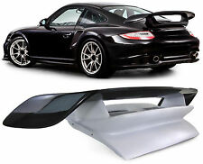 REAR CARBON SPOILER WITH MOTOR HOOD BOOT FOR Porsche 911 997 04-12 GT2 STYLE