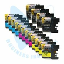 16 PK New LC203XL 203 Ink Cartridges For Brother J4620DW J480DW J5720DW J885DW