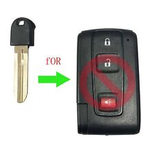 Smart Remote Emergency Key Fob Blade Replacement Insert For Toyota Prius 04-09
