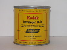 KODAK D-76 DEVELOPER FOR BLACK & WHITE FILM AND PLATES POWDER MAKES 1 GALLON