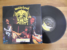 "MOTORHEAD LIVE 12"" EP THE GOLDEN YEARS 1980 VINYL ~ VG+ / VG+ Bronze 12BRO 92"