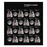 USPS 2019 1969 50th Anniversary Moon Landing Forever Sheet - 24 stamps