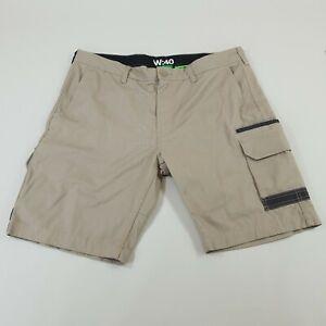 FXD Workwear Mens Size W 40 Cotton Canvas Cargo Shorts Khaki Dura500 Tradesman