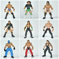 """WWE WWF Wrestling ~ Micro Aggression 2"""" Minifigures ~ Superstar Wrestlers"""
