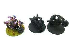 Warhammer 40k Chaos Space Marines Emperors Children Bike Squad Part Painted