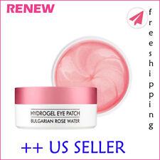 HEIMISH Bulgarian Rose Water Hydrogel Eye Patch 60ea (RENEW) - US SELLER