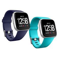 2x Fitbit Versa Armband Ersatz Silikon Band Uhrenarmband Fitness Tracker