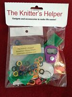 The Knitter's Helper -  Row Counter, Yarn Corsets, Stitch Markers, Tags