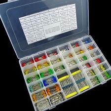 30value 900pcs Diffused Round Flat Top Rectangle LED Assortment Box Kit