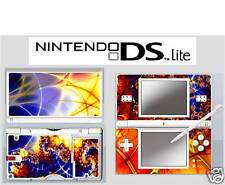 nintendo DS Lite - FRACTAL ART - 4 Piece Decal / Sticker Skin vinyl