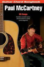Paul McCartney Sheet Music Guitar Chord Songbook 6 inch x 9 inch Guita 000385035