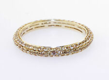 New 18K Yellow Gold & Yellow Sapphire Eternity Band 1.13 Cts.