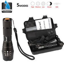X800 shadowhawk 8000LM lampe de poche led torche militaire batterie et chargeur