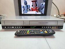 VIDEOREGISTRATORE VHS DVD PLAYER PHILIPS DVP3350V   PERFETTO IN TUTTO+ TELECOMAN
