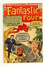 Fantastic Four #6 (1962) - 2nd Dr. Doom! 2nd Sub-Mariner! -Key! Low grade