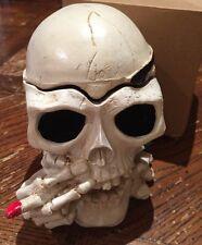 MUST HAVE!! Ashtray Cigarettes Tobacco Skull Shape smoking decoration gift Big