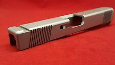 Slide For Glock 17 G17 9mm Gen3 New Stainless Steel Plus Sight Cuts Polymer80