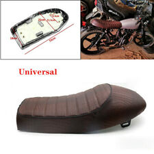 PU Leather Waterproof Surface Motorcycle Soft Sponge Seat Racing Bike Hump Pad
