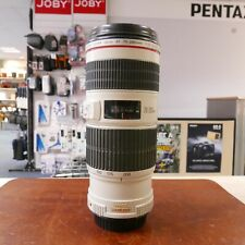 Used Canon EF 70-200mm f4 L IS USM lens - 1 YEAR GTEE