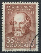 Used Postage Greenlandic Stamps