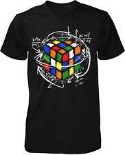 Rubik Cube T-Shirt Zauber Kult Retro Oldschool Würfel Fun 90er Trend Magic Nerd