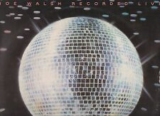 JOE WALSH disco LP 33 giri MADE in ITALY You can't argue with a sick mind