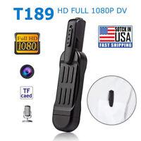 1080P HD Pocket Pen Camera Hidden Spy Mini Body Cam Wireless Video Recorder DVR