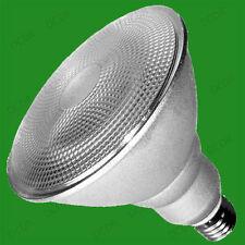 1 x 20W PAR38 CFL Basse Consommation Ampoule Spot Lumière, blanc chaud 2700K, ES